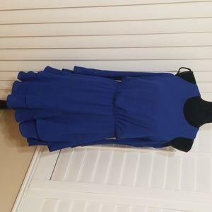 RACHAEL ROY Blue dress